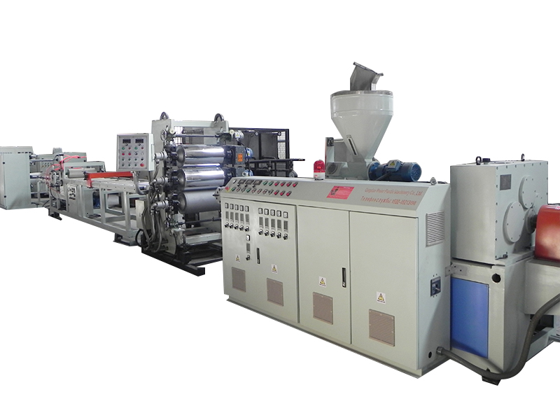 PVC Edge Band Sheet Line With Slitter